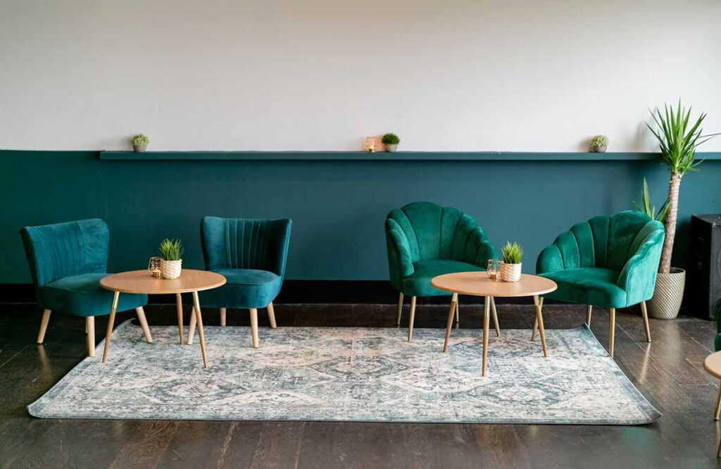 Modern and relaxed bar and cafe South London