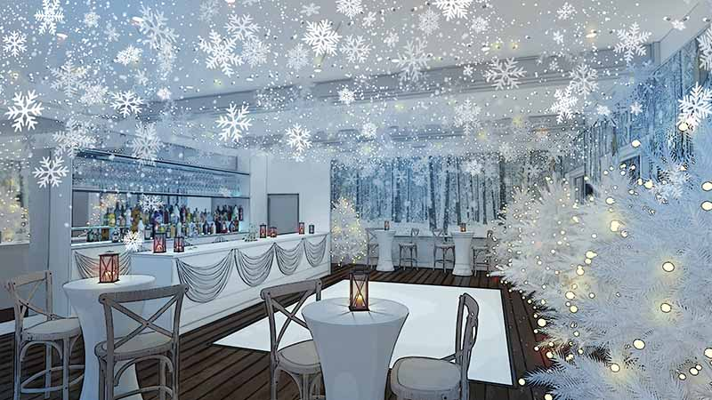 Christmas Party in London, Balham